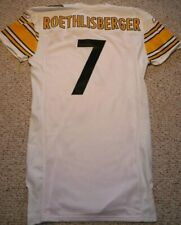 PITTSBURGH STEELERS TEAM ISSUED JERSEY BEN ROETHLISBERGER 09 AWAY GAME JERSEY