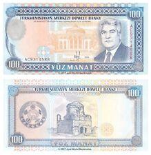Turkmenistan 100 Manat 1995 P-6b Banknotes UNC