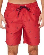 """Nautica Men's J Class 19"""" Swim Trunks, Red, Size XXL, $60, NwT"""