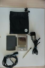Palm One Tungsten E2 organizer with case & stylus; TESTED