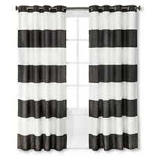 """Bold Curtain Panel Color Stone Gray Size 54x95"""" - Threshold"""