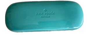 Kate Spade Eye Glasses Aqua Turquoise Blue Color Hard Case only