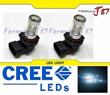LED 80W 9012 HIR2 White 6000K Two Bulbs Head Light Replace Dual Beam Show