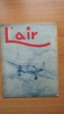 L'AIR revue hebdomadaire provisoirement bimensuelle n° 562 : 20 novembre 1945