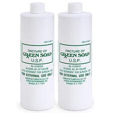 2 PURE CONCENTRATE COSCO GREEN SOAP Tattoo Greensoap 1 Pint 16 oz 16oz TATUAGE