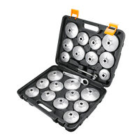 23PCS Oil Filter Wrench Cap Socket Engine Remover For Audi BMW GM Motorcycles