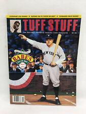 Babe Ruth Tuff Stuff Trading Card Magazine October 1992 Issue