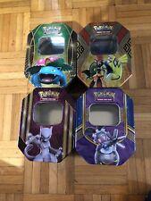 4x Pokemon Tins [Empty]