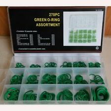 270pcs Hot Hydraulic Nitrile Seals Green Metric Kit Rubber O-ring Set Factory US