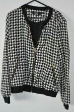 Houndstooth Hand-wash Only Regular Size Coats, Jackets & Vests for Women