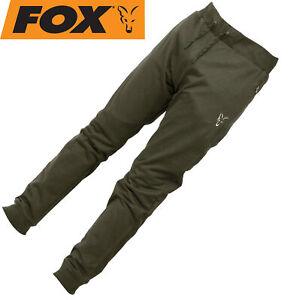 Fox Collection Green/Silver LW Jogger - Hose für Ansitzangler, Angelbekleidung