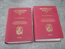 Mushroom Science XI - Sydney 1981 Congress on Cultivation Edible Fungi  Vol 1&2