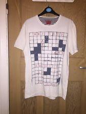 """Levi's blanc t-shirt graphique taille m ATOA 19"""" L26"""" * C1"""