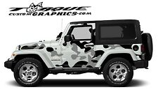Urban Camo-2 Door-Vinyl Decal Set for Jeep Wrangler  , Vehicles, Custom Graphics