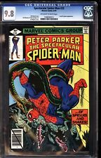 Spectacular Spider-Man 33 CGC 9.8 OWW Lizard and Iguana Appearance