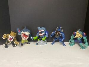 Street Sharks Lot Of 5 Street Blades Tbone Slash Power Bite ++ Authentic Vintage