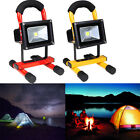 10W Cordless Work Light Spot Rechargeable LED Flood Camping Hiking Outdoor Lamp