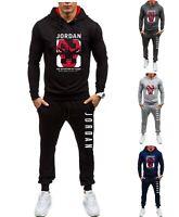 Mens Michael Air Legend 23 Jordan Tracksuit Hoodie &Pants Men Sportswear Outwear