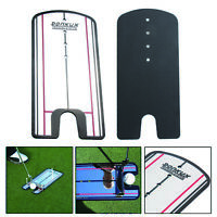 Golf Putting Mirror Alignment Training Aid Swing Trainer Eye Line BEST