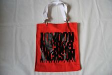MICHAEL King of London JACKSON POP 09 rosso Tote Bag Handbag NUOVA UFFICIALE RARO