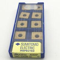 10 Sumitomo SOMT120408PDER-G ACP200 Carbide Inserts SOMT 120408 PDER-G New