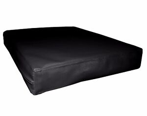 pa801t Black Water Proof Outdoor PVC 3D Box Sofa Seat Cushion Cover*Custom Size