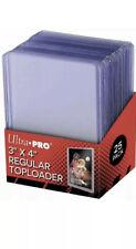 ULTRA PRO Yu-Gi-Oh! POKEMON MTG MAGIC X 12 Regular Toploader Proteggi Carte