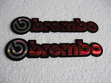 Sticker Aufkleber Brembo Autocross Motorcross Biker MC Race Bremsen Autosport GT