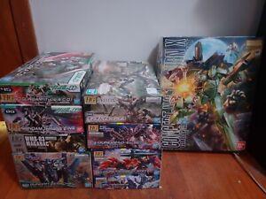 Bandai Gundam Model Kit (Lot Of 9) see description for more info