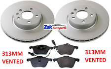 FORD GALAXY 2.8 V6 + VW SHARAN (2000-2006) TWO FRONT BRAKE DISCS AND PADS SET