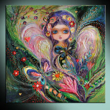 My little fairy Jemima: high quality ready to hang art deco canvas print