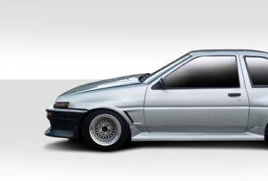 84-87 Toyota Corolla 2DR D-1 Duraflex Body Kit- Front Fenders!!! 100697