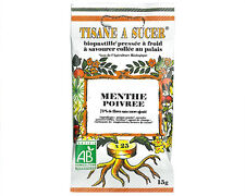 Biopastilles - Tisanes à sucer Menthe poivrée Bio - 15 g