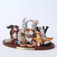 Charming Tails Figurine So Many Years, So Many Smiles 4027690*Retired/New In Box