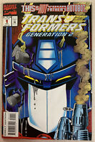 Transformers Generation 2 #1 (Marvel, 11/93)
