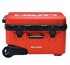 Hilti Ps-1000 X Scan With - Hard Rolling Case , Imaging Mats, 2 Batteries