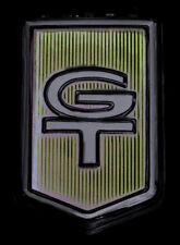 1965-65 MUSTANG EMBLEM GT FENDER 65