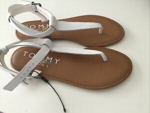 ❤️ Tommy Hilfiger Flip Flops, Sandaletten, neu, Gr. 39, weiß❤️