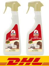 2x Erdal Classic Leder Pflegelotion Alle Farben 500 ml - mit Bienenwachs