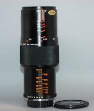 Olympus Rokunar 90mm f2.5 manual focus 1:1 Macro lens for OM camera - Nice Mint-