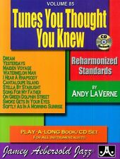 Jamey Aebersold - Tunes You Thought You Knew: Reharmonized Standards [New CD]