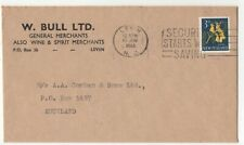 New Zealand 1966 Cover W Bull Ltd Levin to Auckland 148c
