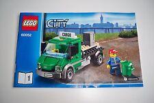 Lego Eisenbahn, 60052, Fahrzeug, LKW, OBA**