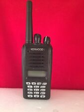 Kenwood NX320 K-6 UHF 400 -470 MHz Nexedge Radio With Battery And Speaker Mic