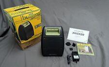 19355511 Kicker Bullfrog Portable Bluetooth Wireless Waterproof Speaker NEW
