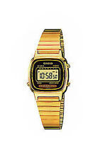 Casio Quarz - (Batterie) Armbanduhren aus Edelstahl für Damen