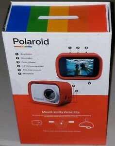 Polaroid iD757 (Red) Lifestyle Action Camera Free Shipping BRAND NEW (ZMX)