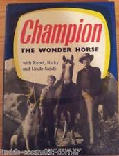 Champion The Wonder Horse Annual 1957 A Daily Mirror Book.