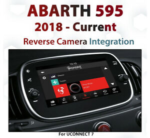ABARTH 2018 - Current / Reverse Camera Integration for UConnect 7