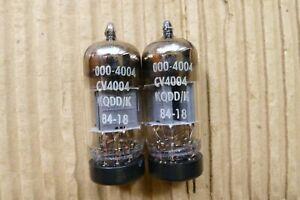 One pair   Mullard CV4004/ECC83/12AX7  Box anode